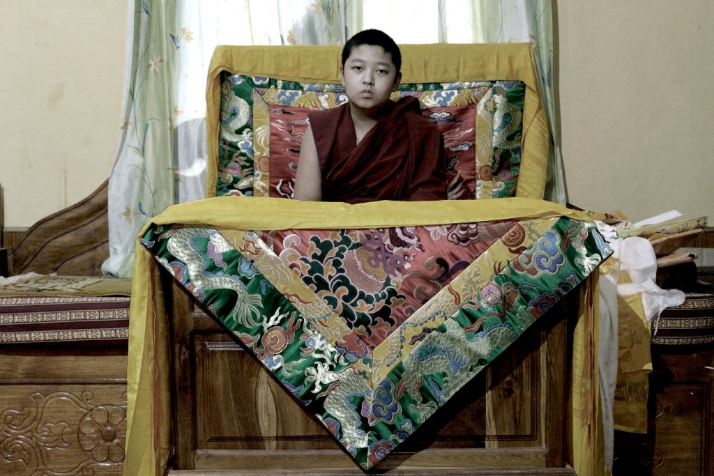 As H.E. Domo Chocktrul Rinpoche matures, the resemblance to his previous life is more apparent